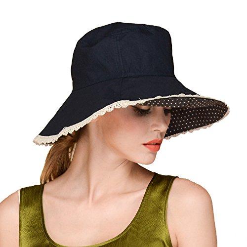 UV Protection Block Face Saver UPF 50 Extra Wide Brim Floppy Straw Sun Hat