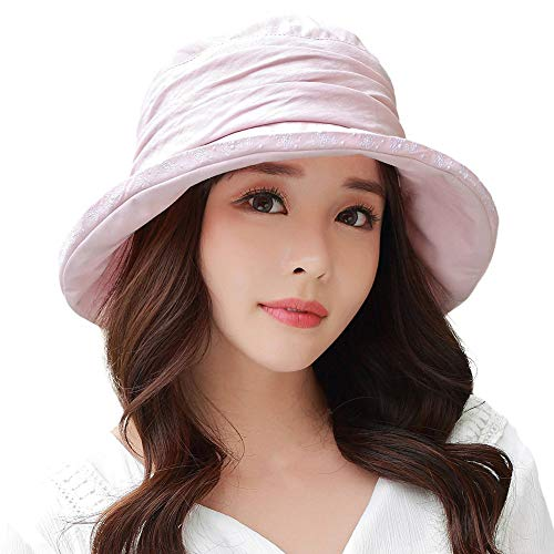 8021e8568 Erigaray UPF50 Lightweight Sun Hat for Womens Girls with Detachable ...