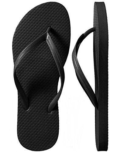 ad1d19f38bf8d SLR Brands Women s Flip Flops Rubber Thong Flip Flop Shower Sandal for Women