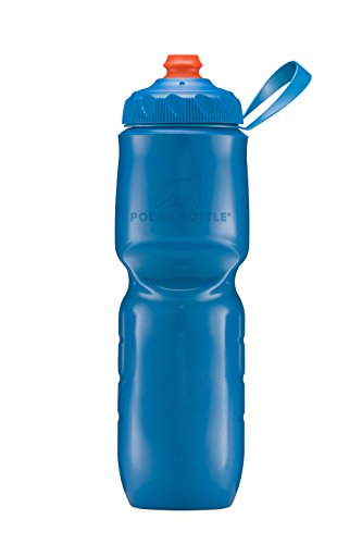 1 or 2-Pack Polar Zipstream 20oz Breakaway Blue Insulated Cycling Water Bottle